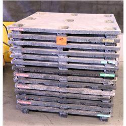 Qty 14 Plastic Pallets