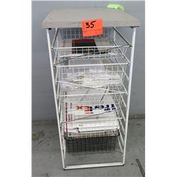 5-Compartment Wire Organizer