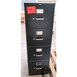 HON 4-Drawer File Cabinet