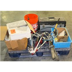 Contents of Pallet, Misc. Tools