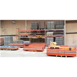 Pallet Racking: Approx. 50 Uprights, Approx. 304 Crossbeams, Approx. 258 Decking