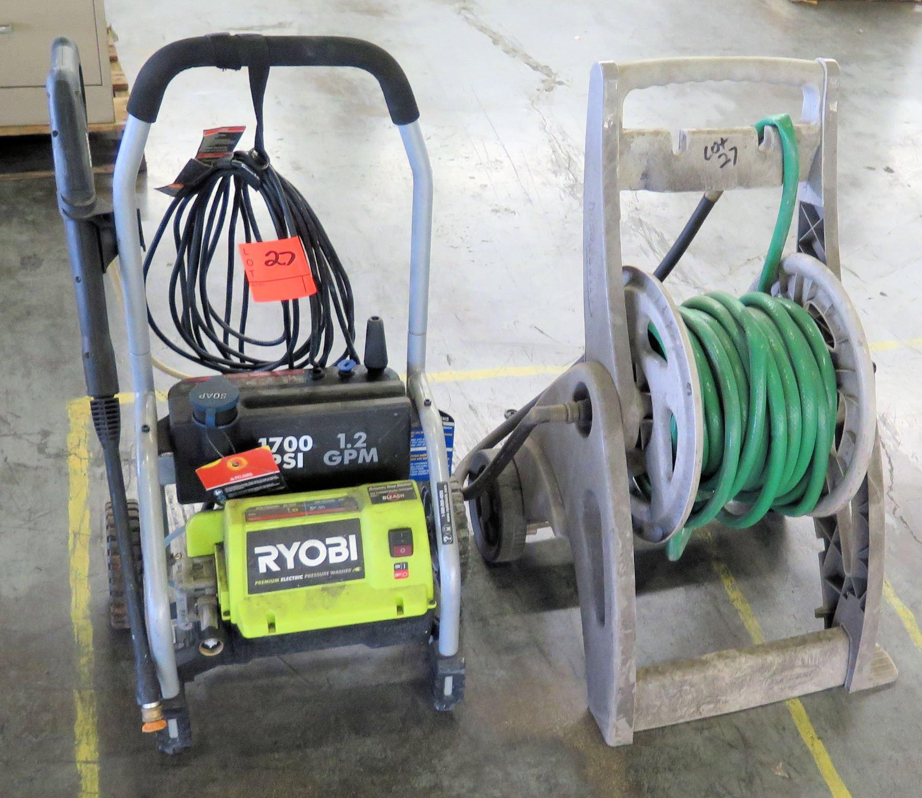 garden hose vs pressure washer