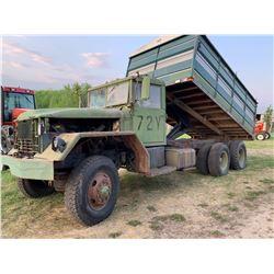 5 ton Army grain truck w/ 16 ft cancade box