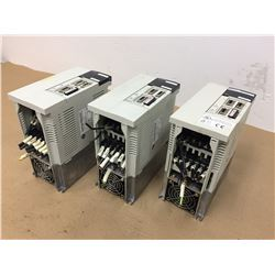 (3) Mitsubishi MR-J2-350CT Servo Drive Units