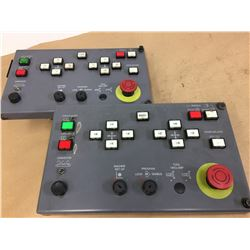 (2) Mazak Control Panels *See Pics for Part Numbers*