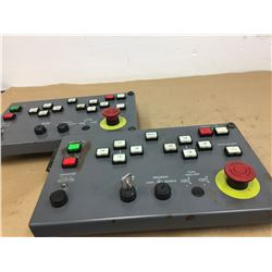 (2) Mazak Control Panel *see pics for part numbers*