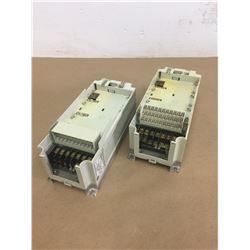 (2) Mitsubishi FR-A520-0.4K-NA Inverter