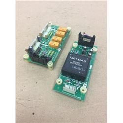 (2) Mitsubishi **see pics for part number** Circuit Boards