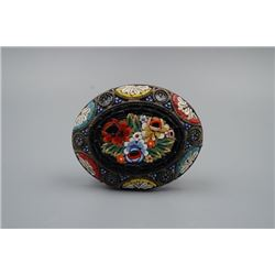 Early 20th century, Italian Mosaic brooch, condition as is show in photo.
