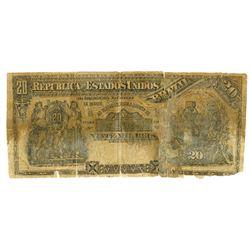 Republica Dos Estados Unidos Do Brazil, 1892 E.8A Contemporary Counterfeit Banknote.