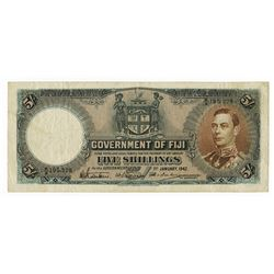 Government of Fiji. 1942. Issued Banknote.