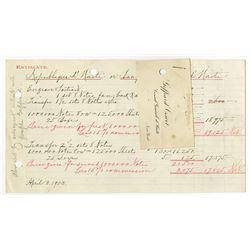 Republique D'Haiti, 1903 Commemorative Issue, ABN Estimate for Haiti Banknotes.