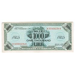 Allied Military Currency. Series 1943A. Issued Banknote.