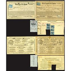 Wells Fargo Oddments and Documents, 1898 to 1900.