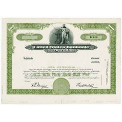 United States Banknote Corp. ca.1960-1970 Proof Stock Certificate.