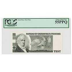 Bureau of Engraving  & Printing. ND (ca.1980-90's). Giori Press Test Note.