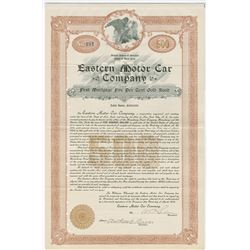 Eastern Motor Car Co., 1905 Issued Bond