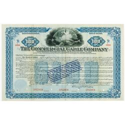 Commercial Cable Co., 1897 Specimen Bond