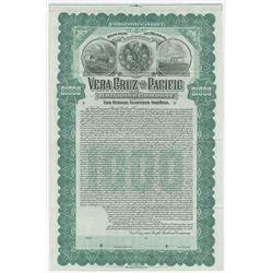 Vera Cruz and Pacific Railroad Co., 1904 Specimen Bond