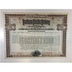 Northern Pacific Railway Co. - St. Paul-Duluth Division, 1900 Specimen Bond