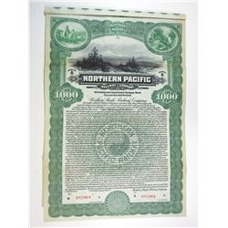 Northern Pacific Railway Co., 1914 Specimen Bond