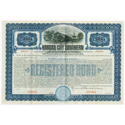Kansas City Southern Railway Co., ca.1900-1910s Specimen Bond