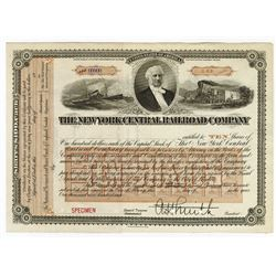 New York Central Railroad Co., ca.1890-1910 Specimen Stock Certificate