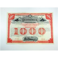 Beech Creek Railroad Co. ca,1900-1910 Specimen Bond