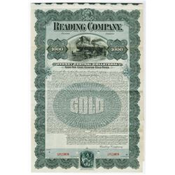 Reading Company Jersey Central Collateral 1901 Specimen Bond