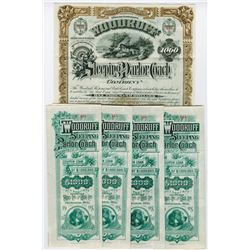 Woodruff Sleeping and Parlor Coach Co., 1888 Group of 5 issued Bonds