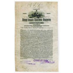Ohio Valley Electric Railway Co., 1916 Proof Bond