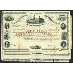 City of Philadelphia. 1856 Bond Assortment.