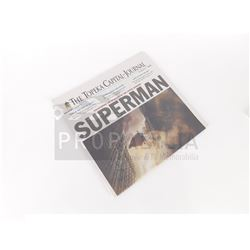 Man of Steel - SUPERMAN 'Uncovering the Mystery of the Caped Wonder' Newspaper (0008)