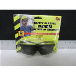 New Smoked Lense Safety Glasses