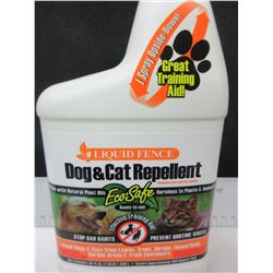 New Liquid Fence Dog & Cat Repellant Training Aid / keeps cats out of