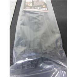 New pack of 100 Cable/Zipties 12 inch  heavy duty black