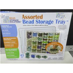 New Assorted Bead Storage Tray / also great for screws and other items