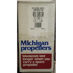 MICHIGAN WHEEL, 14.250 X 23 R ALUMINUM PROPELLER