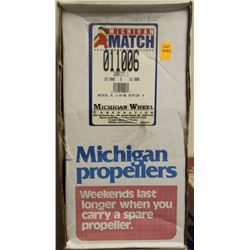 MICHIGAN WHEEL, 15.5 X 15 R ALUMINUM PROPELLER