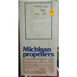 MICHIGAN WHEEL, 13 X 19 R ALUMINUM PROPELLER