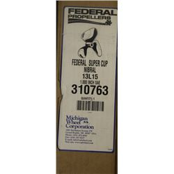 FEDERAL SUPER CUP 13L15, 1.000 SAE PROPELLER