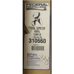FEDERAL SUPER CUP 13L13, 1.000 SAE PROPELLER