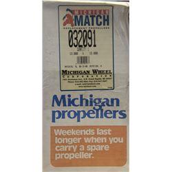 MICHIGAN 13 X 15 RH ALUMINUM PROPELLER