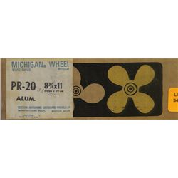 MICHIGAN 8-3/4 X 11 RH ALUMINUM PROPELLER