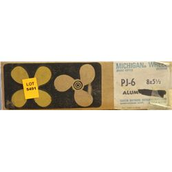 MICHIGAN 8 X 5-1/2 RH ALUMINUM PROPELLER