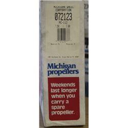 MICHIGAN 7.250 X 5.500 RH ALUMINUM PROPELLER