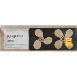 MICHIGAN 8-1/2 X 9 RH ALUMINUM PROPELLER
