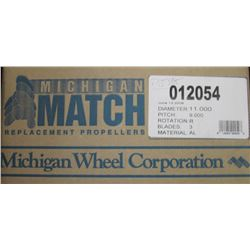 MICHIGAN 11 X 9 RH ALUMINUM PROPELLER