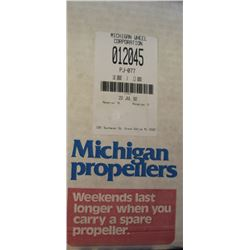 MICHIGAN 10 X 12 RH ALUMINUM PROPELLER