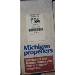 MICHIGAN 9.5 X 10 RH ALUMINUM PROPELLER